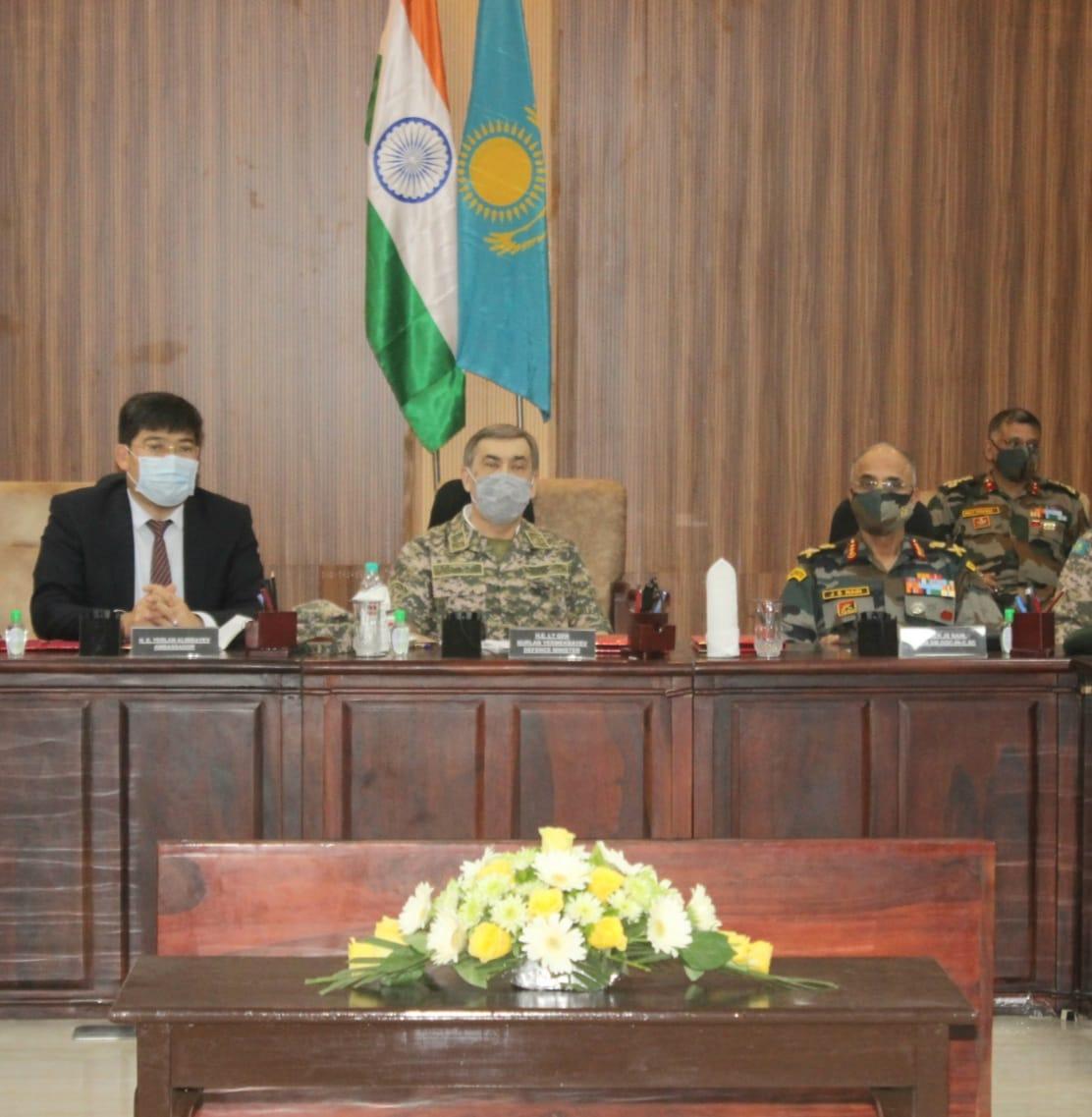 DEFENCE MINISTER OF KAZAKHSTAN VISITS JODHPUR AND JAISALMER