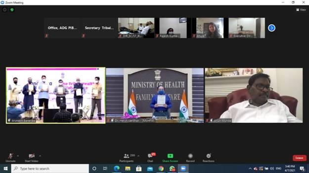 Dr. Harsh Vardhan launches Tribal Health Collaborative 'Anamaya'