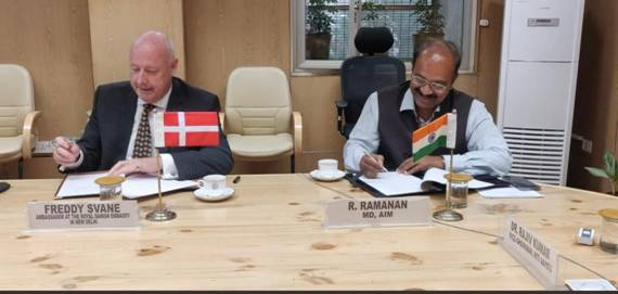 India-Denmark join hands through Atal Innovation Mission for global collaboration towards world class innovative solutions addressing water challengesn& SDGs