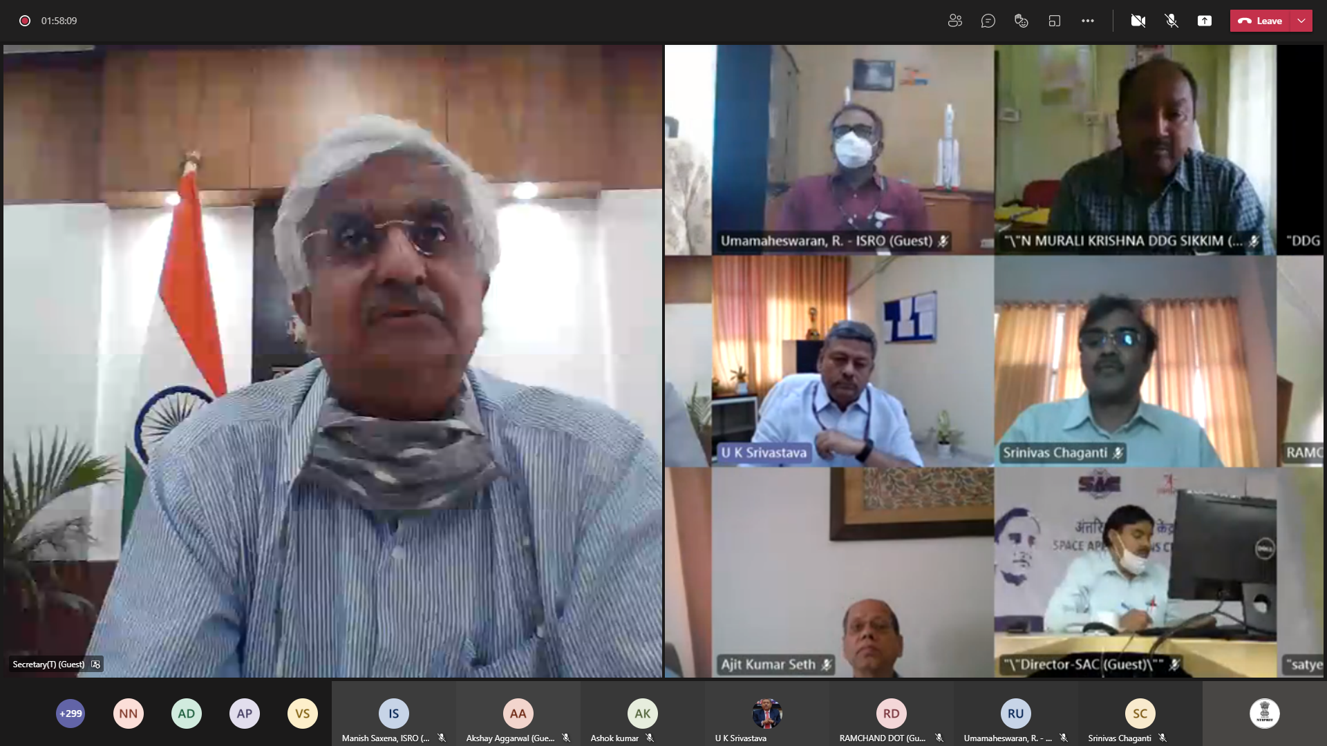 """NTIPRIT conducts webinar on """"NavIC — Opportunities for the Telecom Industry"""" in collaboration with ISRO and telecom industry"""