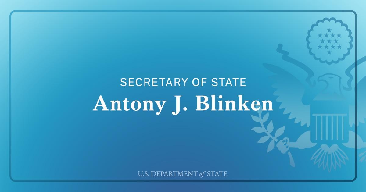 Secretary Antony J. Blinken Before Virtual Meeting with Kenyan President Uhuru Kenyatta