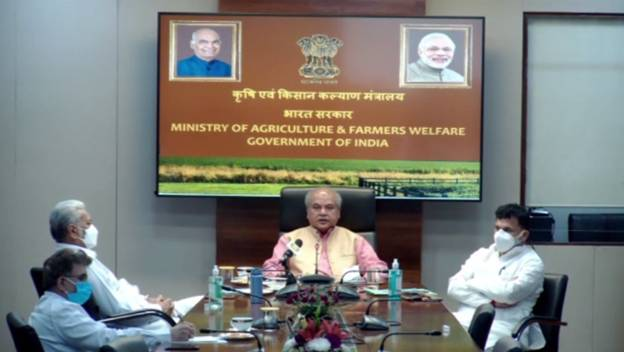 Union Agriculture Minister Shri Narendra Singh Tomar inaugurates National Conference on Agriculture for Kharif Campaign-2021