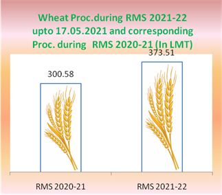 24% more wheat procured in comparison to corresponding period last year