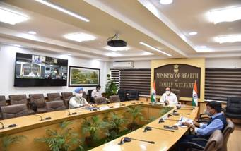 Dr Harsh Vardhan chairs 27th meeting of Group of Ministers (GOM) on COVID-19