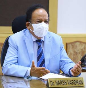 """Dr Harsh Vardhan participates in a High-Level Panel Discussion on """"Continuity on Health Services during COVID-19 Crisis"""""""