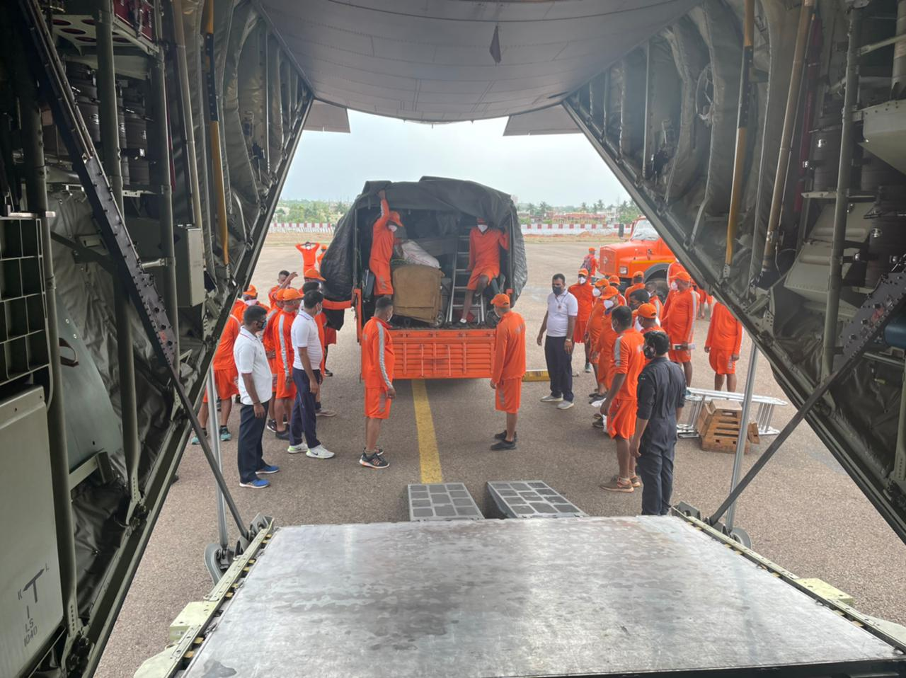 IAF PREPARES FOR CYCLONE TAUKTAE