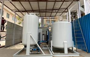 Installation of Two High Flow Medical Oxygen Plants funded by PMCARES at AIIMS, New Delhi and RML Hospital completed