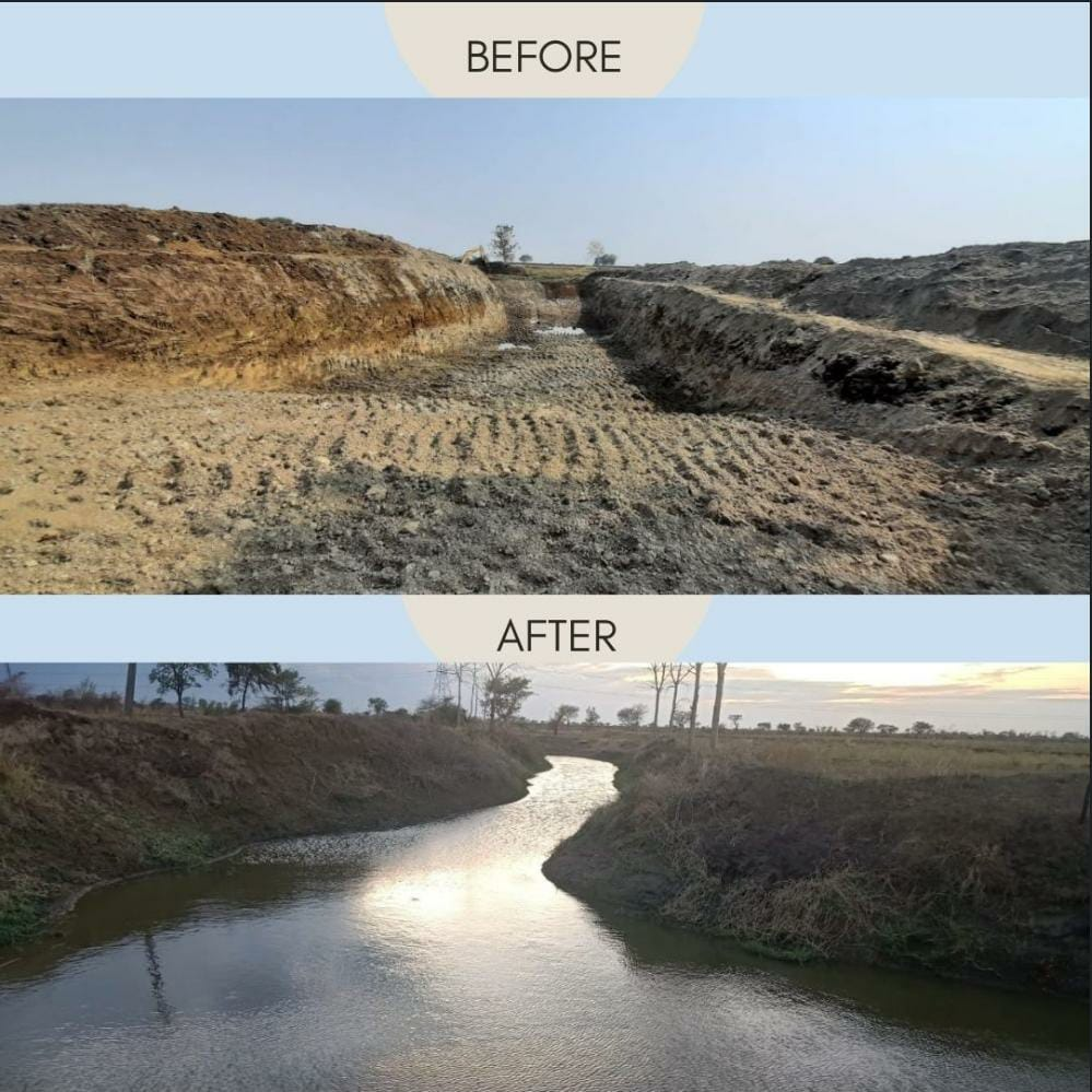 NTPC Mouda's river rejuvenation project helps over 150 villages to overcome water crisis