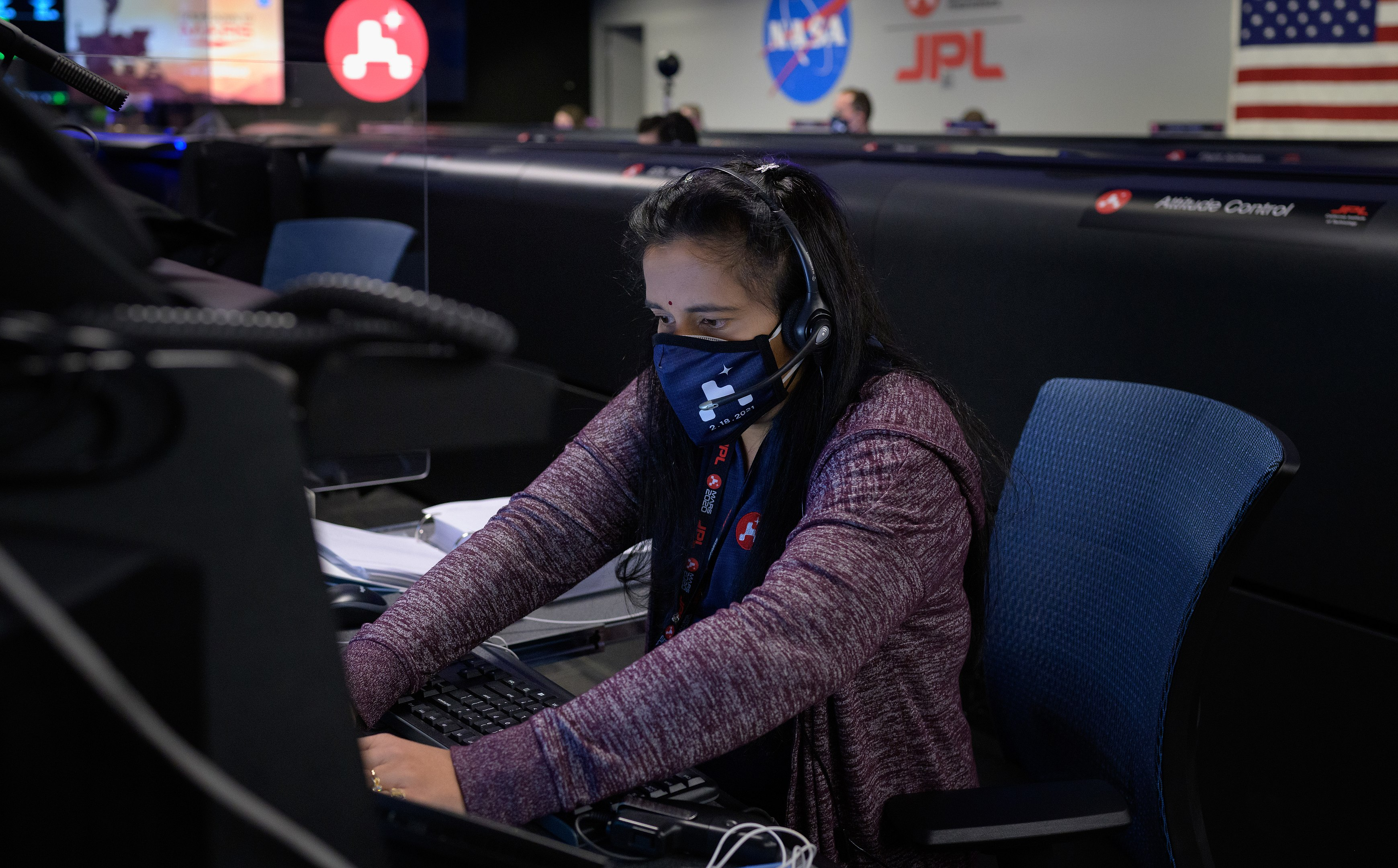 Perseverance Mars Rover Mission Guidance, Navigation, and Controls Operations Lead Swati Mohan