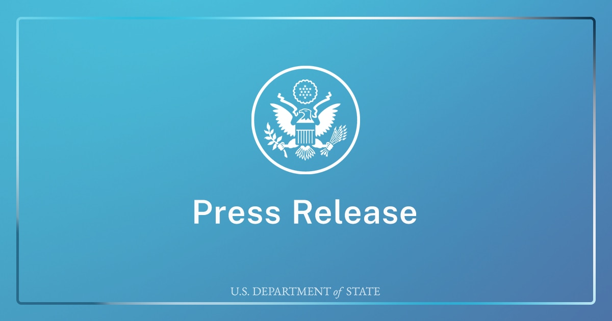 Secretary Blinken's Call with Pakistani Foreign Minister Qureshi
