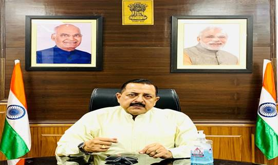 Union Minister Dr Jitendra Singh appeals to all Central Government Employees aged 18 years and above to get themselves vaccinated at the earliest