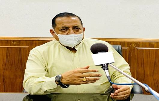Union Minister Dr Jitendra Singh asks all 18 plus government employees to get vaccinated at the earliest