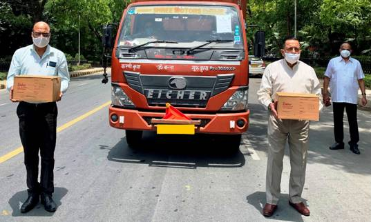Union Minister Dr. Jitendra Singh despatches second consignment COVID related material for his Lok Sabha constituency of Udhampur-Kathua-Doda.