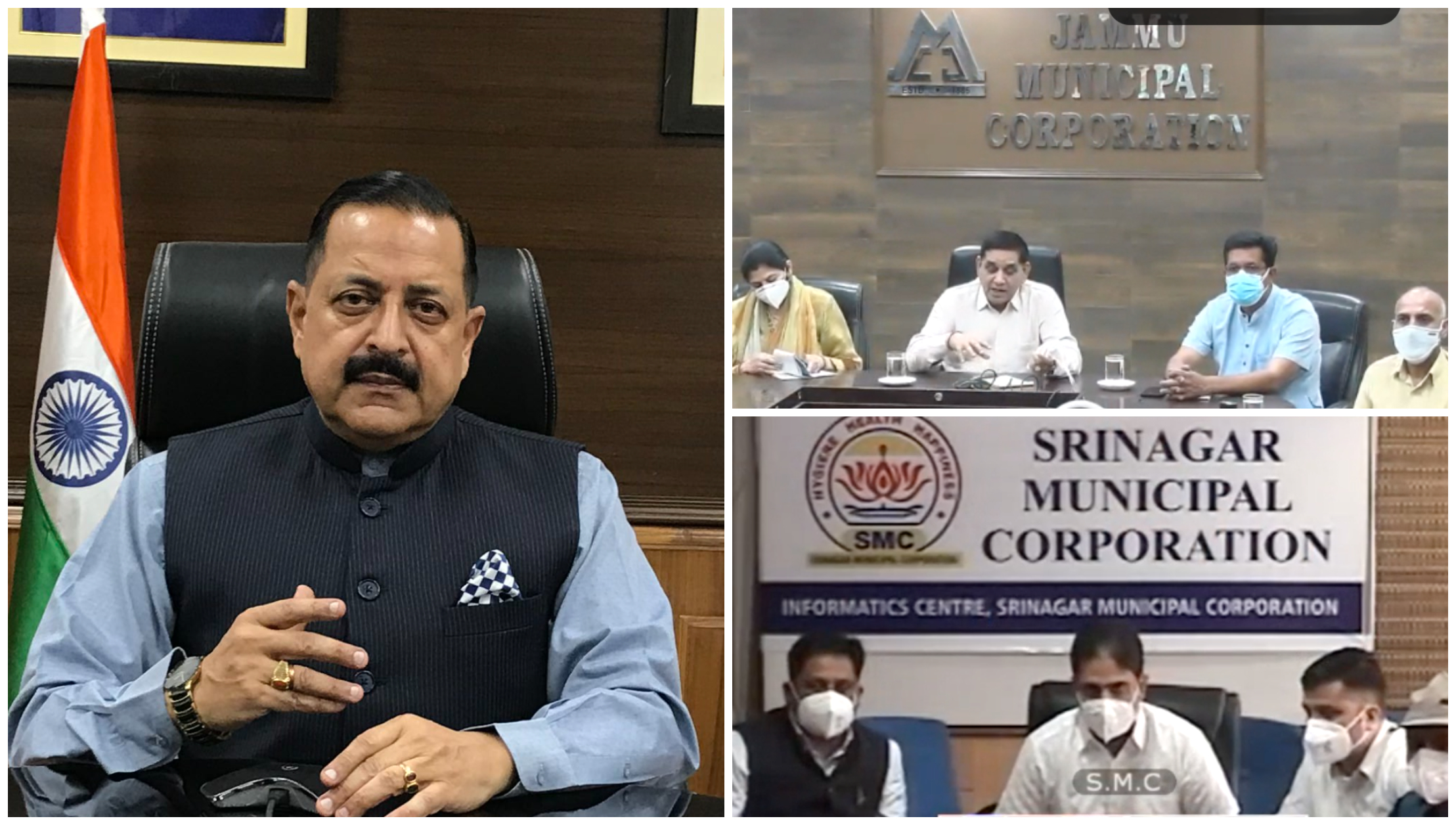 Union Minister Dr. Jitendra Singh says, Elected Representatives must augment vaccination drive in Jammu and Kashmir in a people-friendly manner