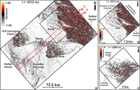 3-D seismic data can help apprehend precursors of marine geohazards from interactions between seabed & marine sediments
