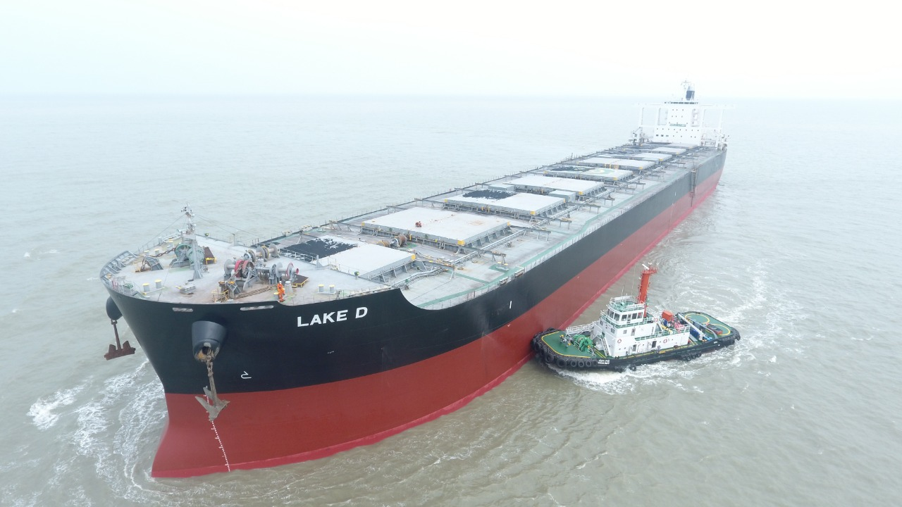 CAPE SIZE VESSEL CALLS AT SAGAR FOR THE FIRST TIME IN THE HISTORY OF KOLKATA PORT