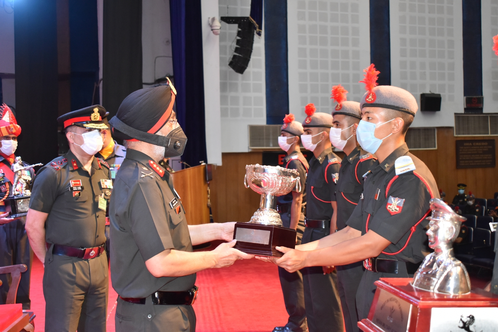 GENTLEMAN CADET FROM BHUTAN AWARDED THE PRESTIGIOUS MOTIVATIONAL TROPHY AT THE INDIAN MILITARY ACADEMY