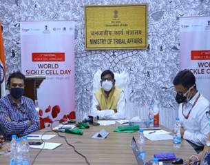 M/o Tribal Affairs organises the second National Conclave on Sickle Disease in India on World Sickle Cell on 19th June, 2021