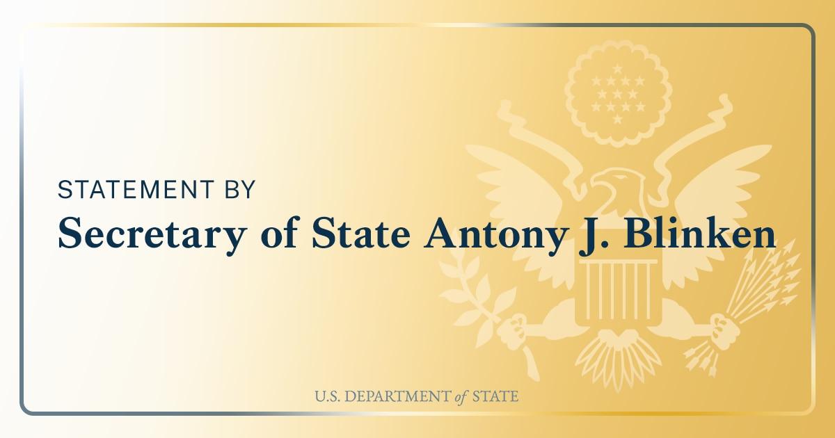 Secretary Antony J. Blinken With John Dickerson of CBS's Face the Nation