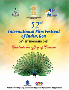 52nd IFFI to be held from 20th -28th November 2021 in Goa