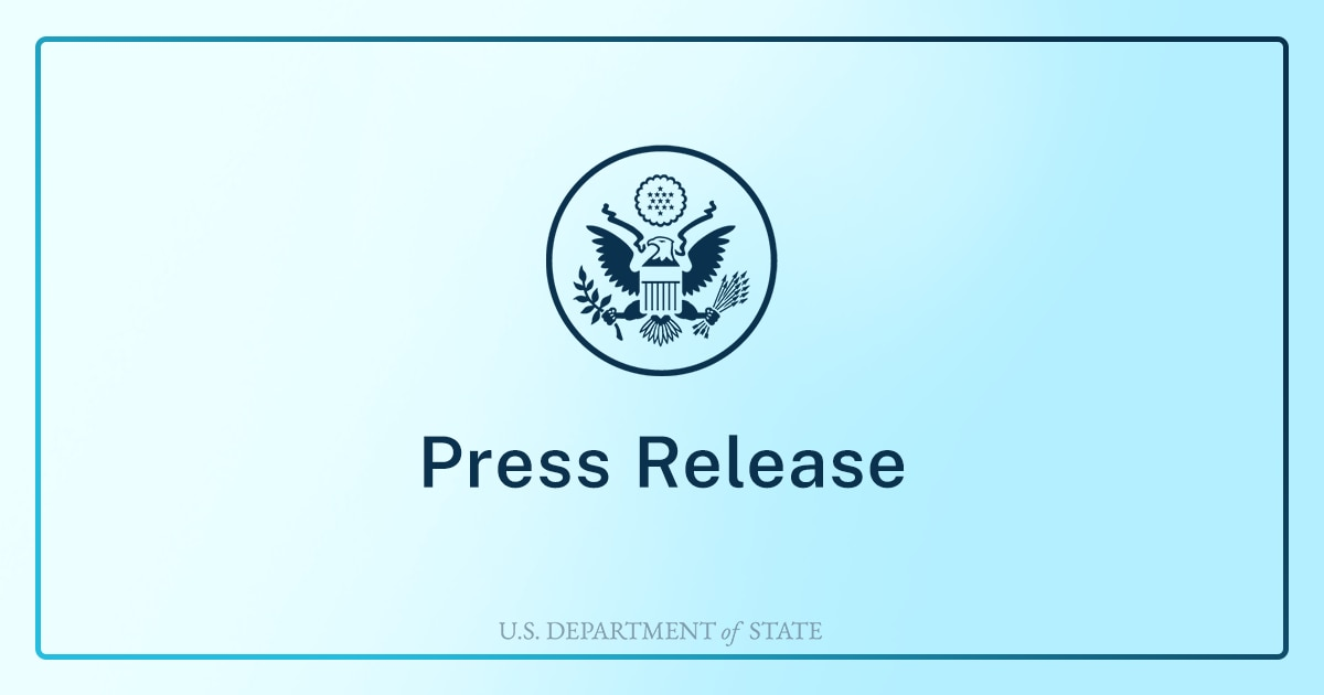 Acting Assistant Secretary of State Joey Hood Travels to Algeria, Morocco, and Kuwait