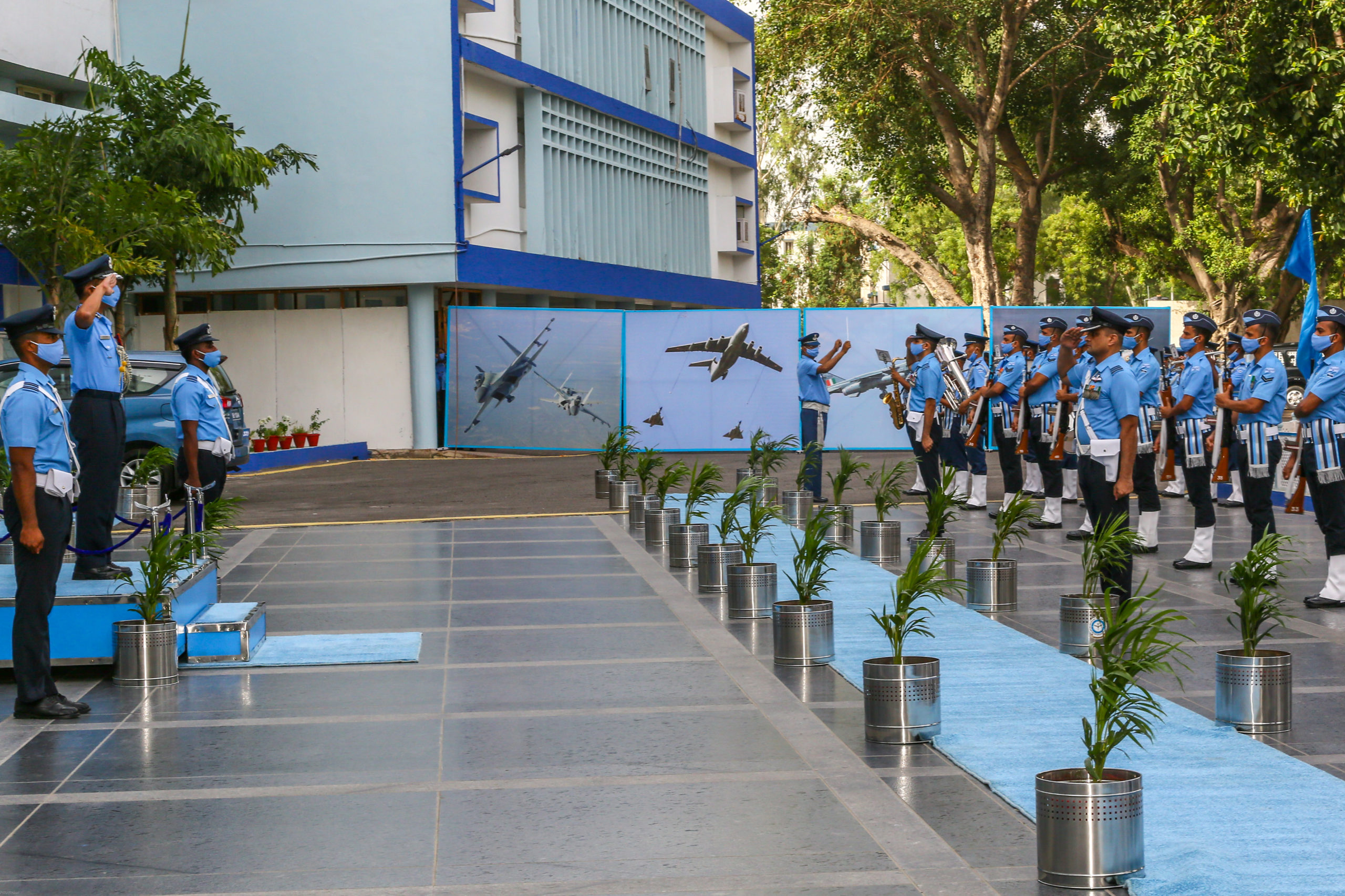 AIR MARSHAL BR KRISHNA AVSM SC ASSUMES THE COMMAND OF WESTERN AIR COMMAND