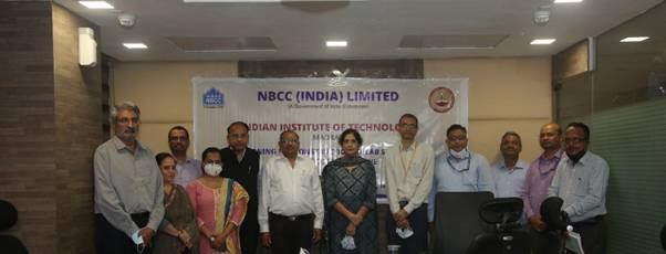 Centre of Excellence of Water Sanitation and Hygiene (WASH) at IIT Madras supported by NBCC (India) facilitated by Office of PSA, GoI
