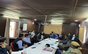 CLC reviews implementation of Labour Laws and new Labour Codes with senior officials of UT of Ladakh and project officials in Leh