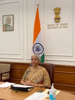 Finance Minister Smt. Nirmala Sitharaman attends Third G20 Finance Ministers and Central Bank Governors Meeting