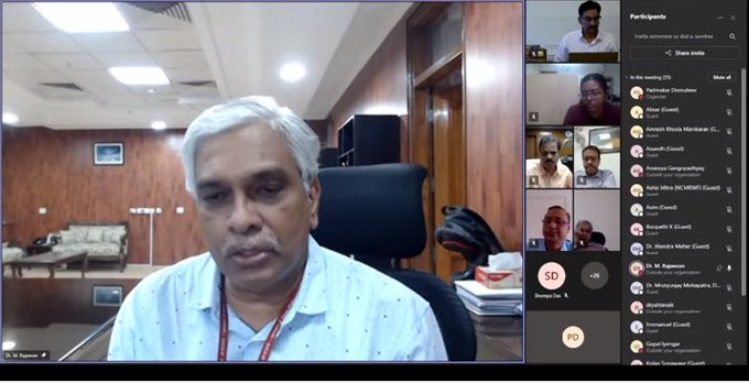 IITM organizes virtual workshop with industry stakeholders on weather forecasts needed for wind and solar energy sectors