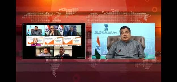 Shri Nitin Gadkari emphasizes on importance of infrastructure development for growth and economy of renewable energy sector