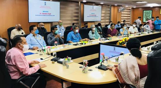 Union Minister Dr. Jitendra Singh says time has come for biotechnology department to emerge as service provider