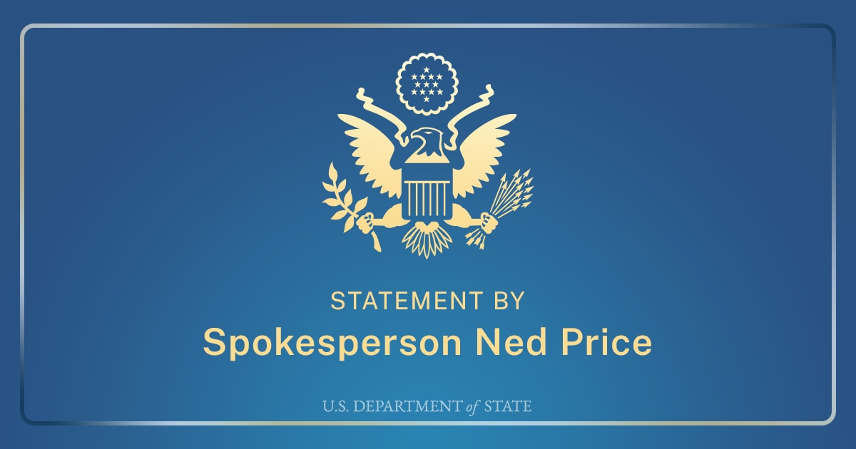 United States Welcomes Announcement of Israel and Hashemite Kingdom of Jordan Agreements on Water and West Bank Trade