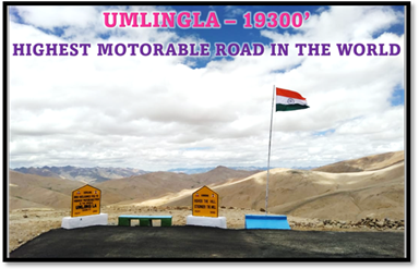 BRO constructs highest motorable road in the world in Eastern Ladakh