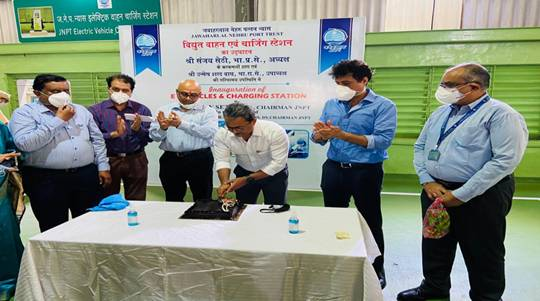 JNPT inducts nine Electric vehicles