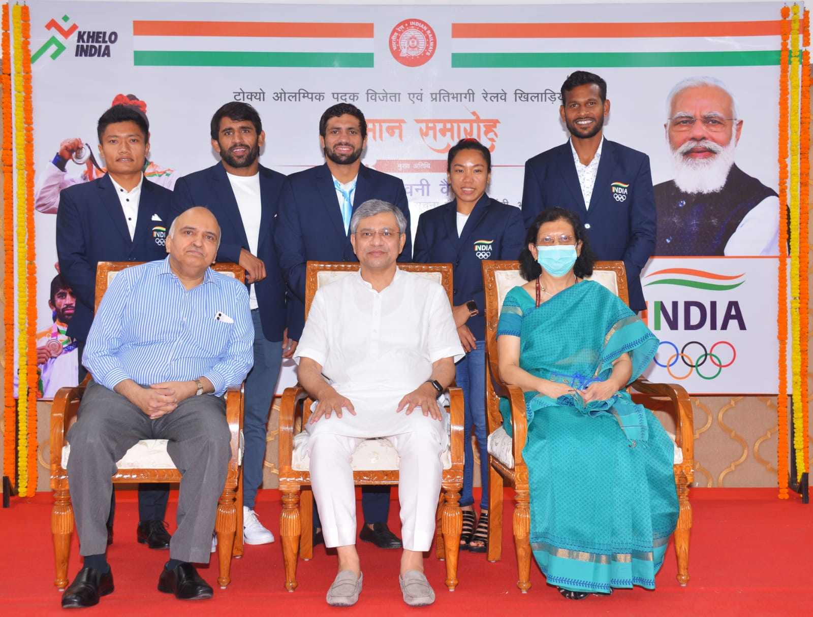 Assured career progression of sportspersons with Railways is being worked out : Ashwini Vaishnaw