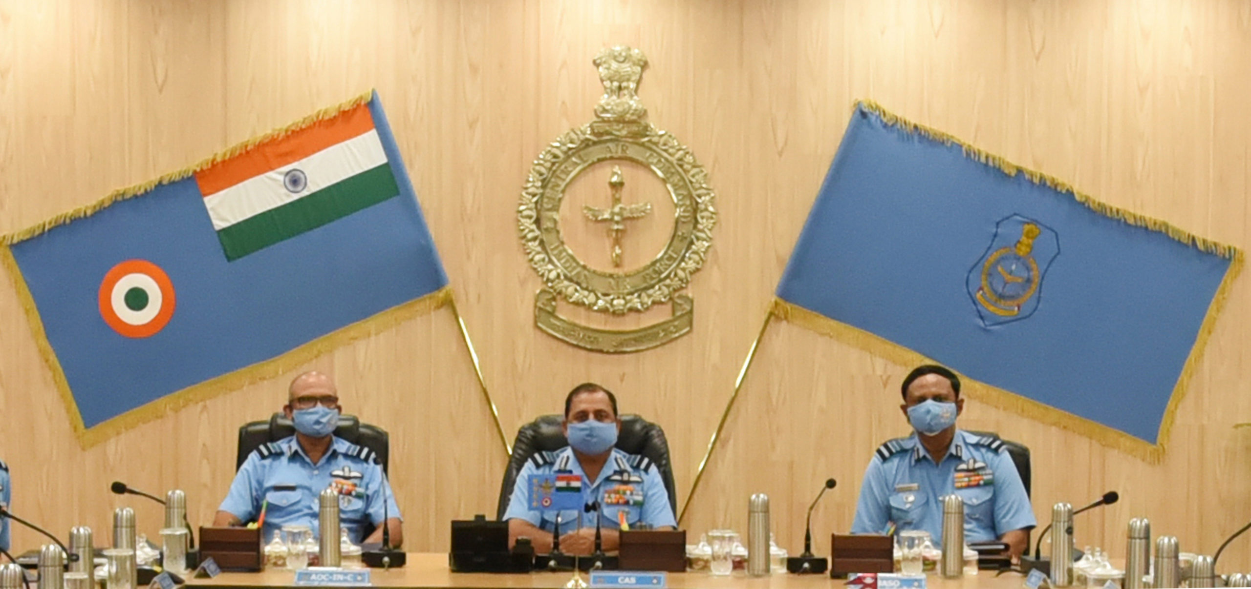CHIEF OF THE AIR STAFF VISITS HEADQUARTERS CENTRAL AIR COMMAND