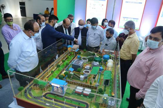 Exhibition organised on initiatives and technological advancement in the field of Biofuels