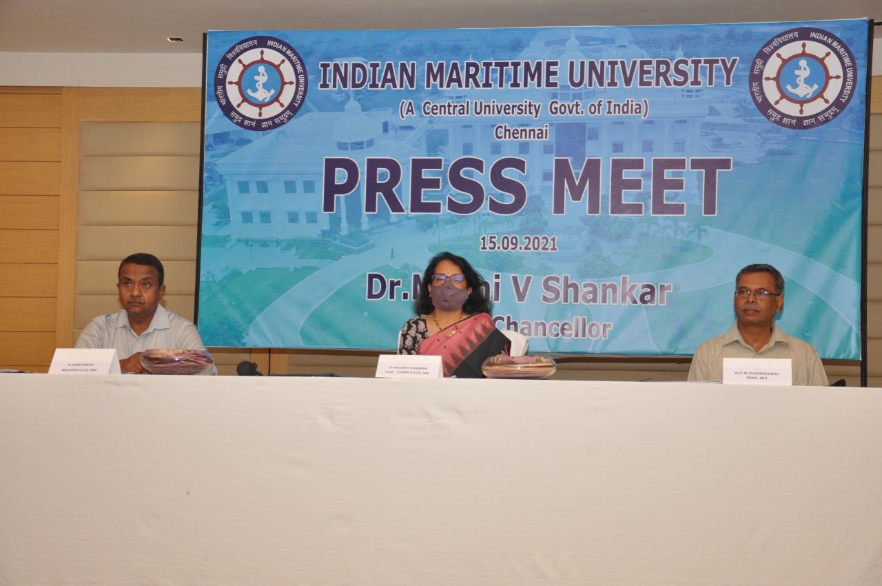 Indian Maritime University creates skilled workforce in maritime industry which has huge employment opportunities: Vice Chancellor