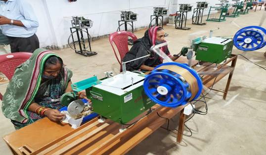 KVIC Set up Odisha's First Silk Yarn Production Centre to Boost Local Silk Industry & Create Employment