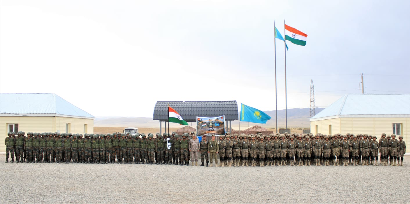 PRESS RELEASE FOR CLOSING CEREMONY INDO-KAZAKHSTAN JOINT TRAINING EXERCISE KAZIND – 21