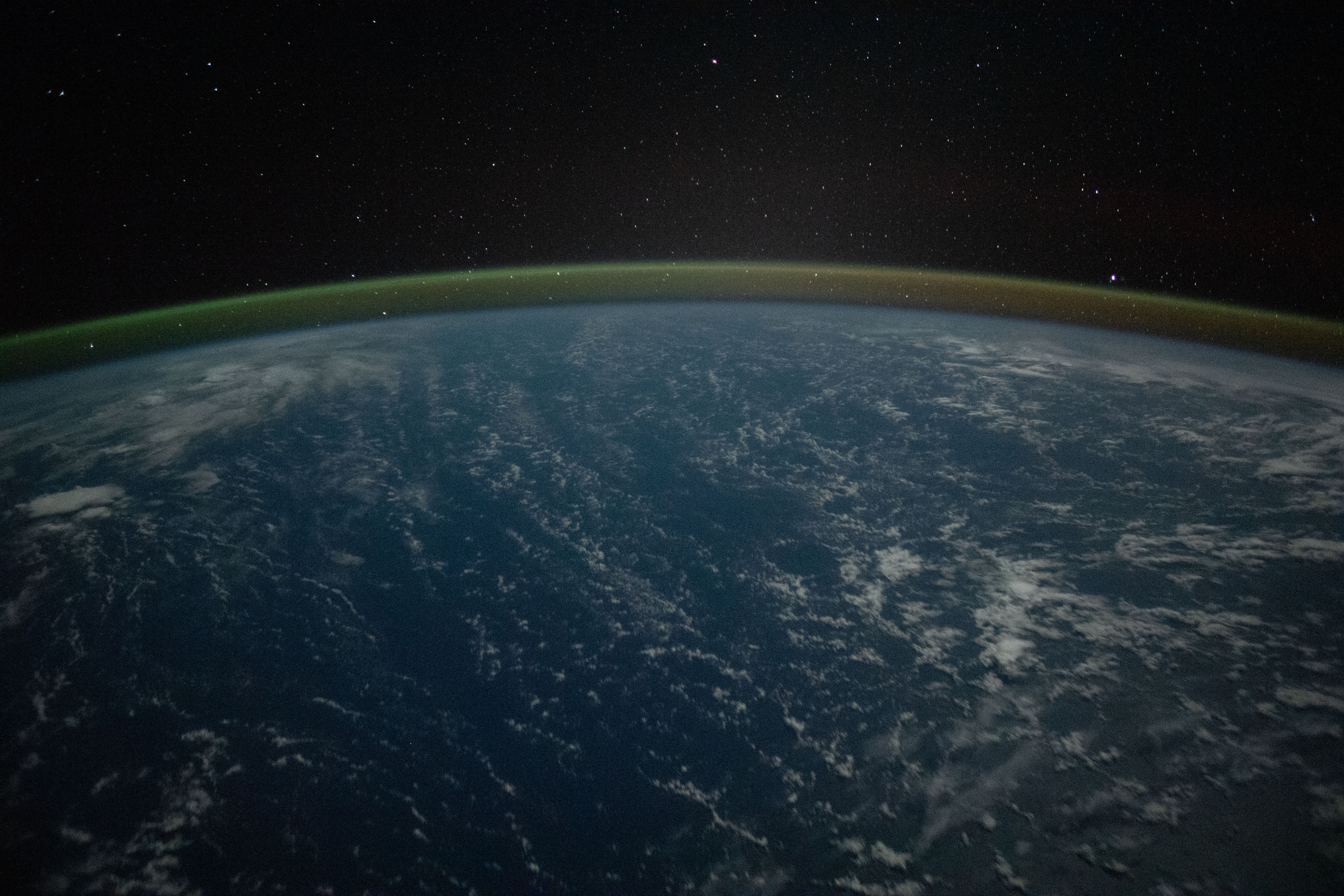 Seeing the Earth's Glow From Space