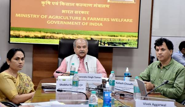 States should take advantage of the Agriculture Infrastructure Fund so that benefits can reach small and marginal farmers, says Shri Narendra Singh Tomar