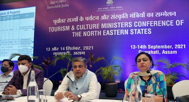 The two-day conference of Tourism and Culture Ministers of North Eastern States successfully concludes in Guwahati