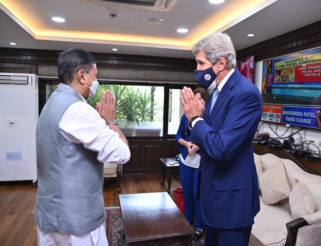 The US compliments India for its commitment to achieve 450 GW of RE by 2030