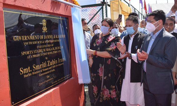 Two-Day Visit Of Union WCD Minister To Jammu and Kashmir Concludes