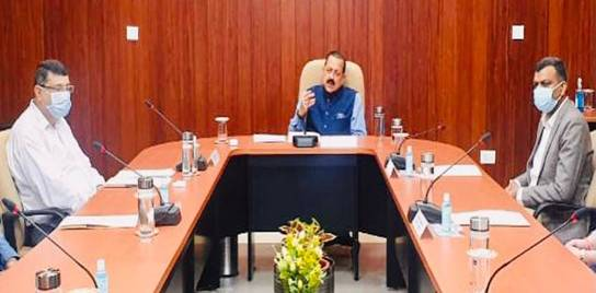 Union Minister Dr Jitendra Singh asks Surveying authorities to come out of Silos and adopt integrated technology to produce more fruitful and cost-effective outcomes