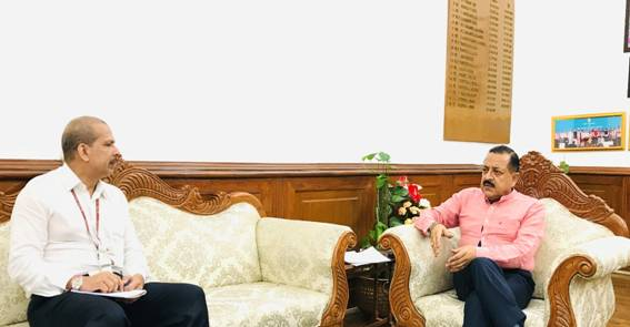 Union Minister Dr Jitendra Singh reviews the progress of Special Highways and Road Projects in Jammu and Kashmir