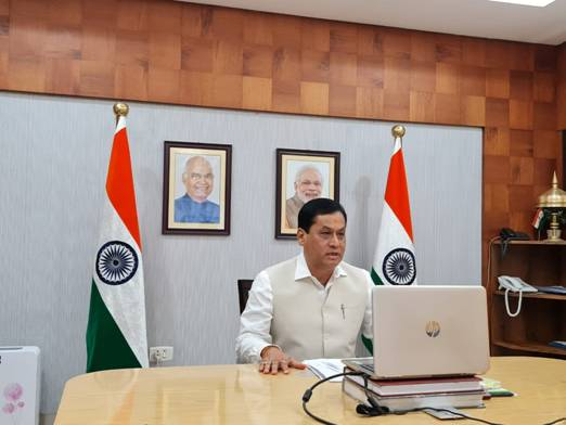 Union Minister for Ports, Shipping, Waterways & Ayush Shri Sarbananda Sonowal Flags-off Dwarf Container Train at JNPT