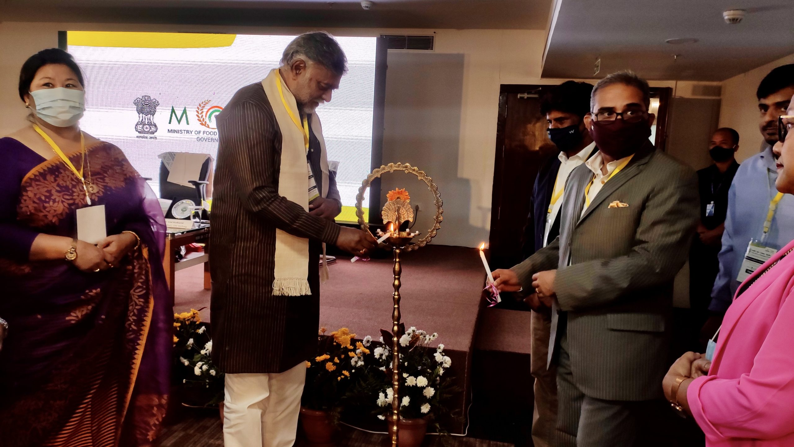 Union Minister of State for Food Processing Industries Shri Prahlad Singh Patel Inaugurates two-day North East Summit on Food Processing Industries at IIM Shillong